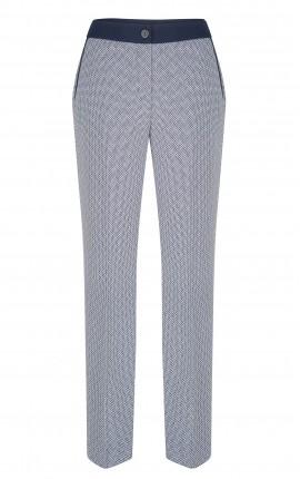 Pantalon Blue Marine - Blanc