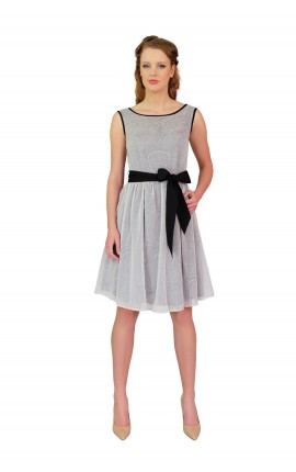 Cynthia Grey Dress