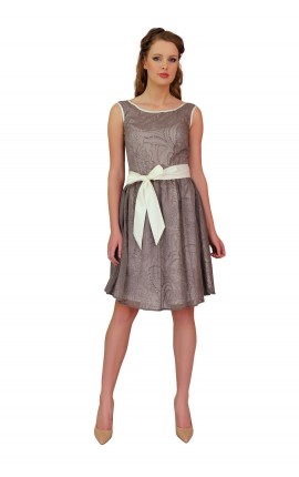 Cynthia Brown Dress